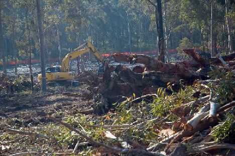 Daracan clearing site to nth