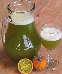Naranjilla Fruit and Juice