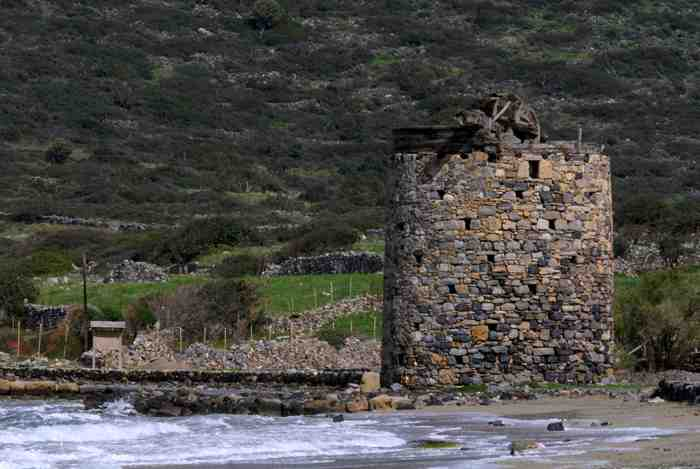 windmill remnant elounda